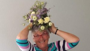 Image of a floral headress to illustrate mothers day