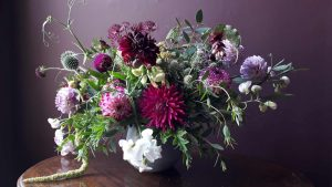image of a floral arrangement to illustrate grow your own perennials workshop