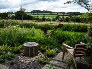 Image of a beautiful garden to illustrate creative plans garden workshop
