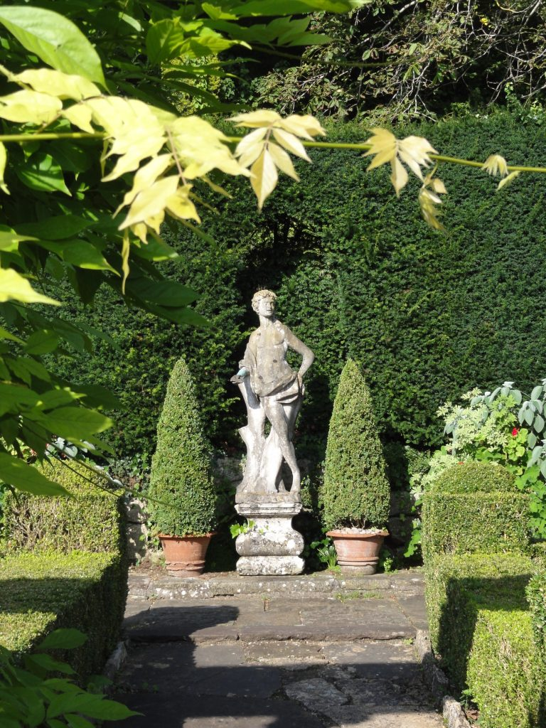 Statue at Iford Manor